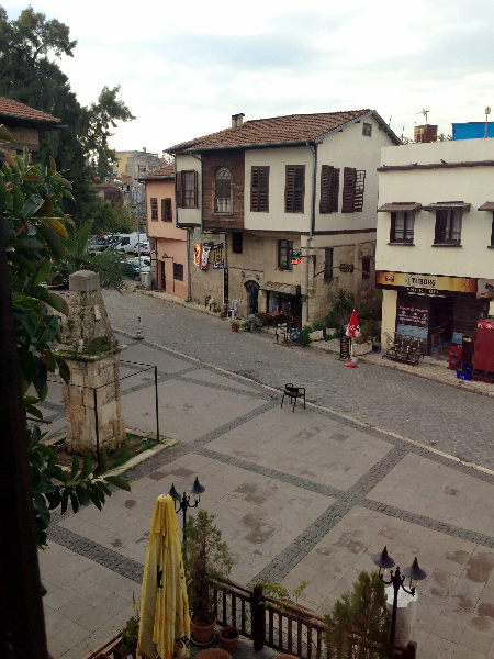 Outside Hotel Window-Tarsus Turkey